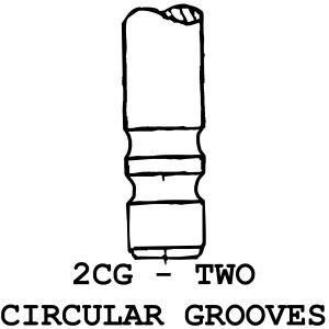 2CG - 2 Circular Grooves