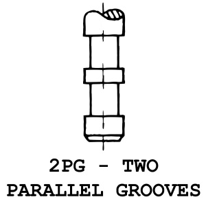 2PG - 2 Parallel Grooves