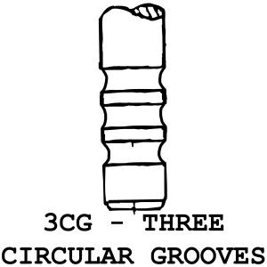 3CG - 3 Circular Grooves
