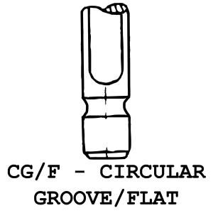 CG/F - Circular Groove / Flat