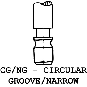 CG/NG - Circular Groove / Narrow