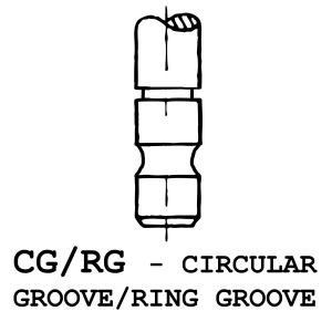CG/RG - Circular Groove / Ring Groove