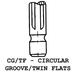 CG/TF - Circular Groove / Twin Flats