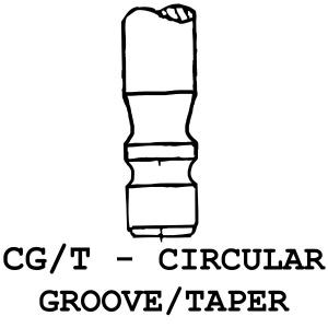 CG/T - Circular Groove / Taper
