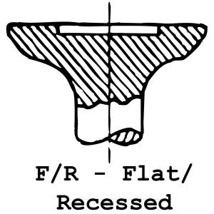 F/R - Flat / Recessed