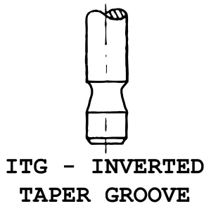 ITG - Inverted Taper Groove