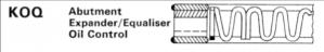Abutment Expander/Equaliser Oil Control
