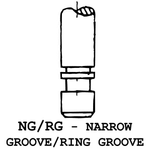NG/RG - Narrow Groove / Ring Groove