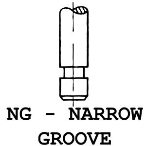 NG - Narrow Groove