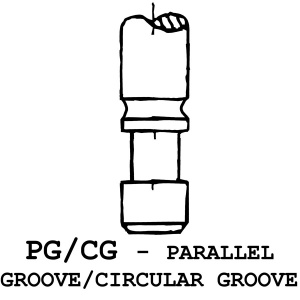 PG/CG - Parallel Groove / Circular Groove