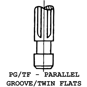 PG/TF - Parallel Groove / Twin Flats