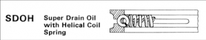 Super Drain Oil with Helical Coil Spring